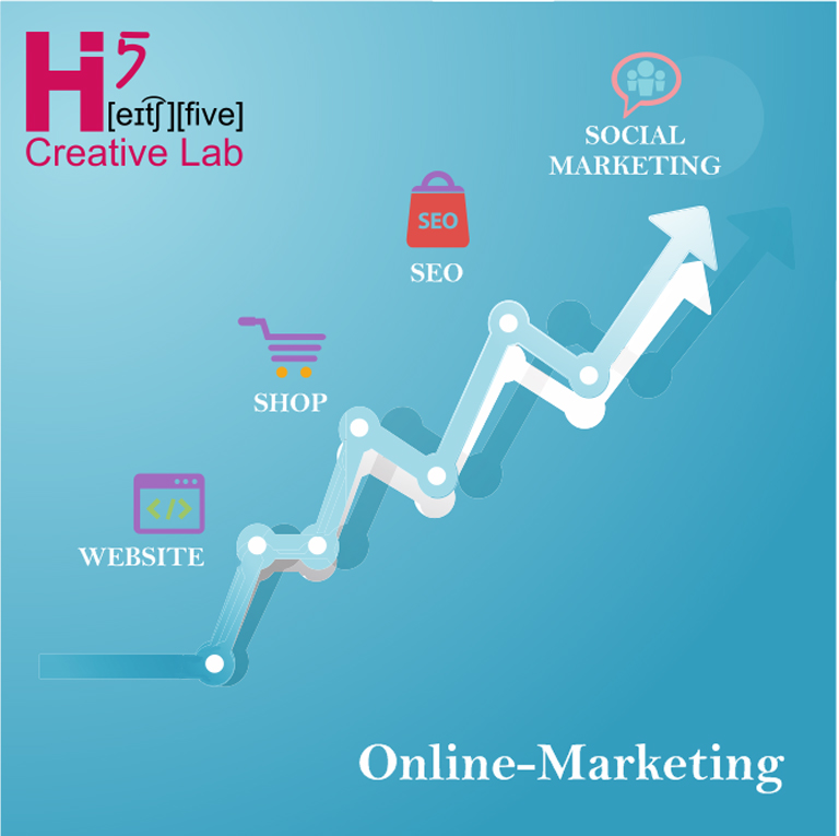 Wir pushen Dein Online-Marketing - für Deinen Erfolg